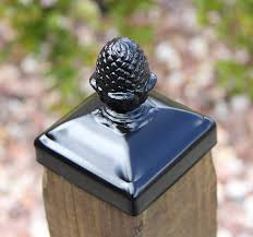 Pineapple Wrought Iron Finial Post Cap For 4x4 Wood Post Amazon Ca Tools Home Improvement