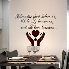 Bless Wall Decal Bible Wall Decal Vinyl Wall Decal Bless The Food Before Us Home Garden Children S Bedroom Child Decor Decals Stickers Vinyl Art