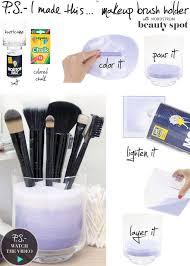 diy makeup storage ideas you can do easily