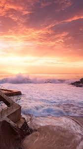 sunset beach iphone wallpapers top