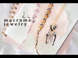 diy macrame jewelry you