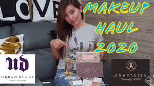 makeup haul 2020 philippines with