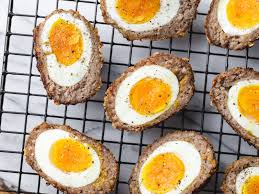 air fryer keto scotch style eggs