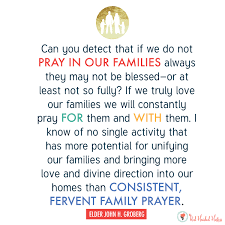 why is family important in heavenly father s plan lesson helps