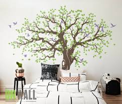 Large Family Tree Wall Decal Nursery Tree Wall Decals Tree Etsy