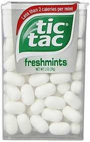 tic tac freshmint 1 ounce packages