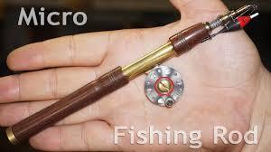 micro fishing rod diy lathe you