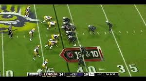 South Carolina O vs LSU D 2012 - YouTube