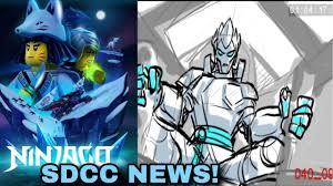LEGO Ninjago 2019 SDCC NEWS ! New Animation styles, Ninjago anime ...