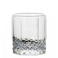 crystal seamless whiskey glass set