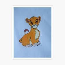 Macbook Vinyl Skin Sticker Decal Lion King Simba Disney Rafiki Kids