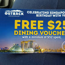 outback steakhouse voucher