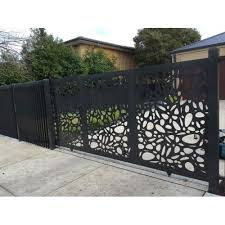 Sliding Modern Laser Cut Mild Steel Safety Gate Rs 650 Kg Lotus Frp Industries Id 22118630330