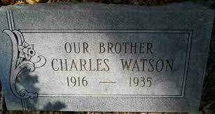 WATSON, CHARLES - Hempstead County, Arkansas | CHARLES WATSON - Arkansas  Gravestone Photos