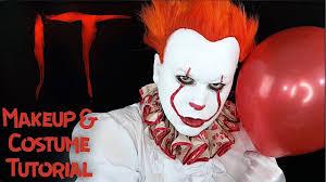 clown makeup costume tutorial