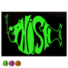 Classic Logo Sticker Shop The Phish Dry Goods Official Store