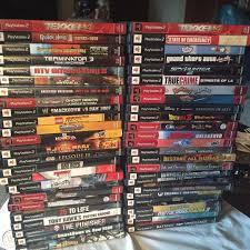 playstation 2 games lot 50 games no