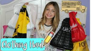 back to clothing haul 2017