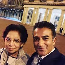 "Adil Ray OBE on Twitter: ""Mum & I were invited to Buckingham ..."