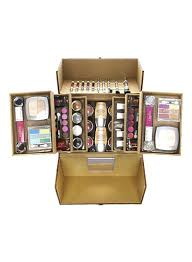 just gold makeup kit multicolour