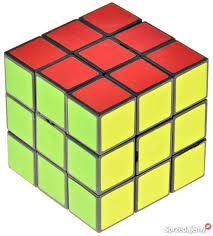 KOSTKA 3x3 UKŁADANKA LOGICZNA sześcian Rubika !!!! Pabianice ...