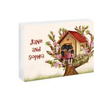 Amazon Com Sisters Wall Art Girls Bedroom Decor Custom Name Door Sign Kids Room Decoration Tree House Handmade