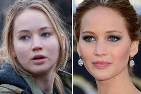 these celebrities look shockingly