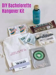 diy bachelorette party hangover kit