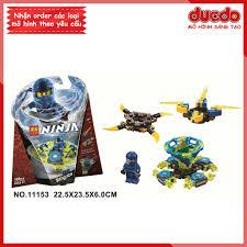 LARI 11153 Lắp ghép Ninjago Cao Thủ Spinjitzu Jay - Đồ chơi Xếp hình Mô  hình Con quay lốc xoáy Ninja BELA 70660