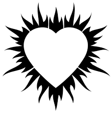 Heart Car Decals Car Stickers Heart Car Decal 05 Anydecals Com