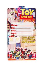 Tarjetas De Invitacion Toy Story Mister Pinatas