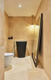 sink white toilet larga mirror hanging