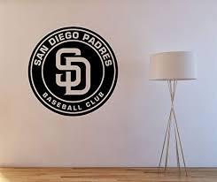 Amazon Com San Diego Padres Logo Sticker Decal Books Wall Truck Car Wall Vinyl Logo Home Kitchen