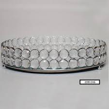round iron decorative jewelry food tray