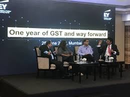 """EY India on Twitter: """"EY Partner @pimprikar leads panel discussion on #GST  experience and road ahead by GSTN authorities as well as industry.  Panellists include Prakash Kumar, CEO, GSTN, Prabhakar Iyer, ED"""