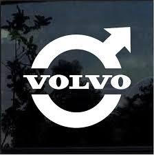 Volvo Logo Window Decal Sticker Custom Sticker Shop