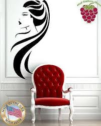 Wall Stickers Vinyl Decal Beauty Salon Long Hair Ponytail Hot Sexy Gir Wallstickers4you