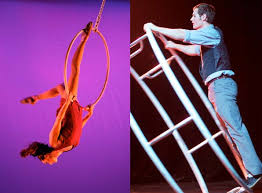Elsie Smith & Zeb Galipeau at the Warehouse for Workshops 4/15/12 | Circus  Warehouse