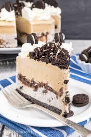 coffee cookies and cream ice cream cake