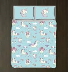 unicorn bedding set duvet cover shams