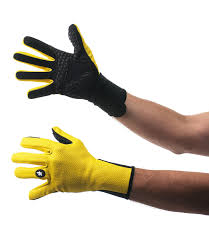 Assos Early Winter Gloves 851 Yellow ...
