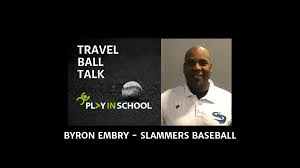 Byron Embry - Slammers Baseball - Play In School