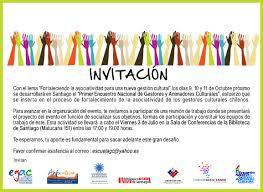 Presentacion Encuentro Nacional De Gestores Culturales Blog De