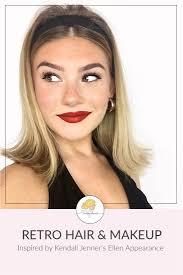 kendall jenner inspired hair makeup