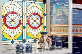 historic stained and leaded glass