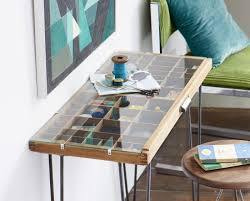 tray decor shadow box table