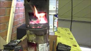 homemade simple vertical steam boiler