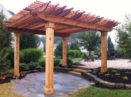 cedar pergola plans pdf woodworking