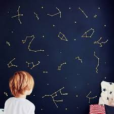 Large Size Zodiac Constellation Art Vinyl Wall Sticker Baby Room Decoration Space Star Decal Nursery Mural Art Diy Wall Decor Buy At The Price Of 15 21 In Aliexpress Com Imall Com