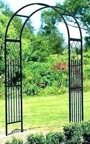 archway decorative galvanized arbor